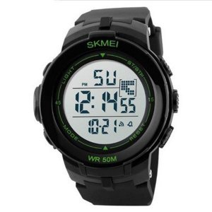 Relógio Masculino Skmei Digital 1127 Preto e Verde