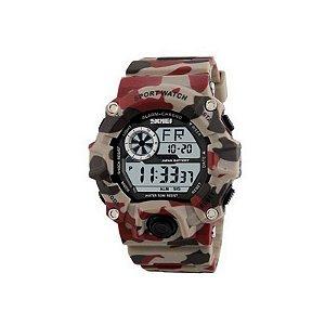 Relógio Masculino Skmei Digital 1019 Bege