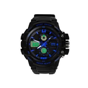 Relógio Masculino Skmei Anadigi 0990 Preto