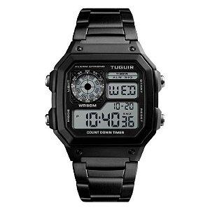 Relógio Unissex Tuguir Digital TG1335 Preto