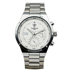 Relógio Masculino Tuguir Analógico 5440G Branco