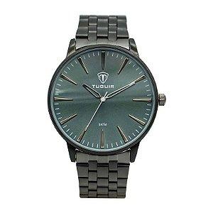 Relógio Unissex Tuguir Analógico 5273G Preto e Verde