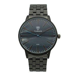 Relógio Unissex Tuguir Analógico 5273G Preto e Azul