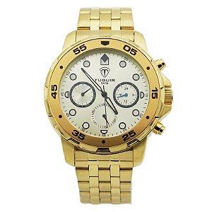 Relógio Masculino Tuguir Analógico 5328G Dourado