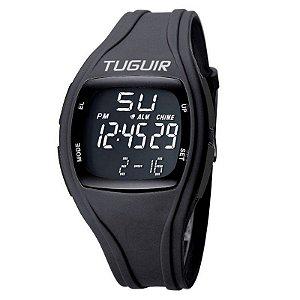 Relógio Unissex Tuguir Digital TG1801 - Preto e Preto