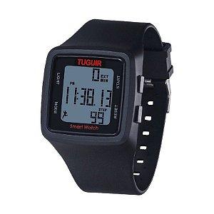 Relógio Unissex Pedômetro Tuguir Digital TG1606 Preto