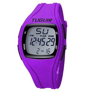 Relógio Unissex Tuguir Digital TG1602 Roxo