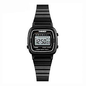Relógio Feminino Skmei Digital 1252 Preto
