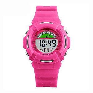 Relógio Infantil Skmei Digital 1272 Rosa