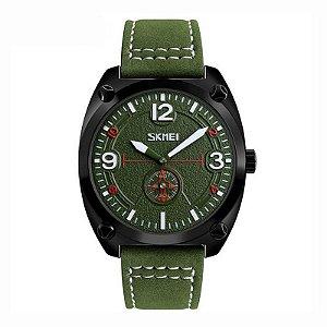 Relógio Masculino Skmei Analógico 9155 Verde