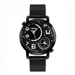 Relógio Masculino Skmei Analógico 9168 Preto