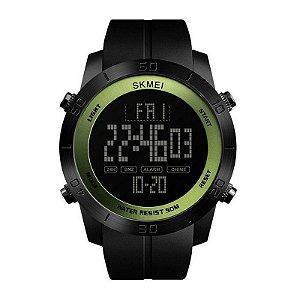 Relógio Masculino Skmei Digital 1353 Preto e Verde