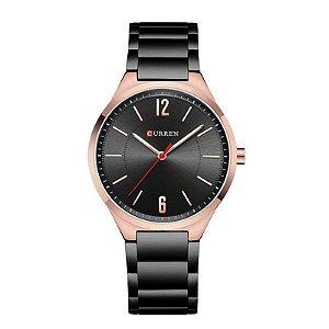 Relógio Masculino Curren Analógico 8280 - Preto