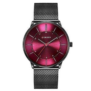 Relógio Masculino Curren Analógico 8303 - Preto