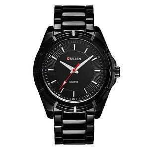 Relógio Masculino Curren Analógico 8112 - Preto