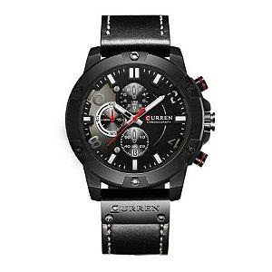 Relógio Masculino Curren Analógico 8285 - Preto
