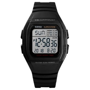 Relógio Infantil Skmei Digital 1278 Preto