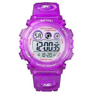 Relógio Infantil Skmei Digital 1451 Roxo