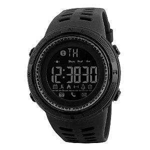 Relógio Pedômetro Masculino Skmei Digital 1250 - Preto