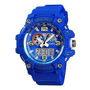 Relógio Masculino Skmei AnaDigi 1436 - Azul