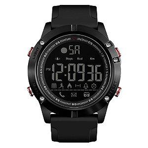 Relógio Pedômetro Masculino Skmei Digital 1425 - Preto