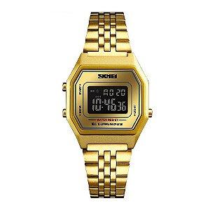 Relógio Feminino Skmei Digital 1345 - Dourado