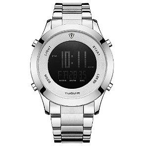 Relógio Masculino Tuguir Digital TG103 - Prata