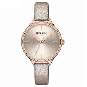 Relógio Feminino Curren Analógico C9062L - Rose