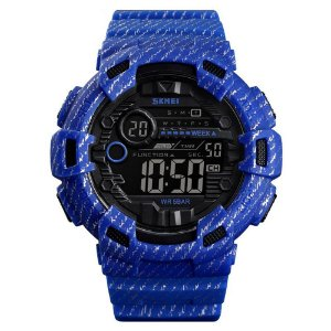 Relógio Masculino Skmei Digital 1472 - Azul