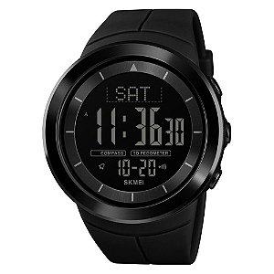 Relógio Pedômetro Masculino Skmei Digital 1403 - Preto