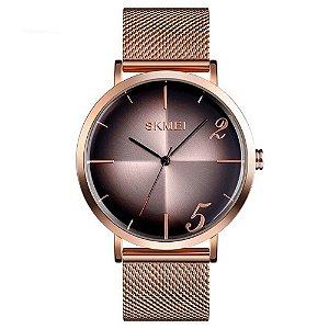 Relógio Feminino Skmei Analógico 9200 - Rosé