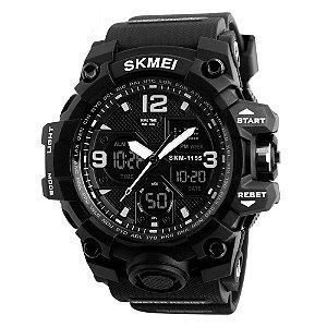 Relógio Masculino Skmei AnaDigi 1155B - Preto