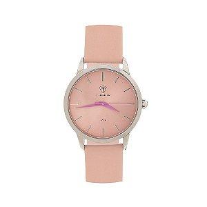 Relógio Feminino Tuguir Analógico TG106 - Rosa e Prata