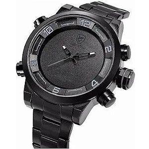 Relógio Masculino Shark AnaDigi DS025S - Preto