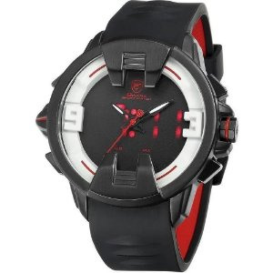 Relógio Masculino Shark AnaDigi DS0331 - Preto e Branco