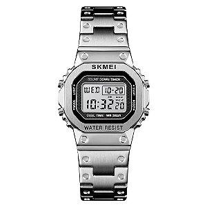 Relógio Feminino Skmei Digital 1433 - Prata