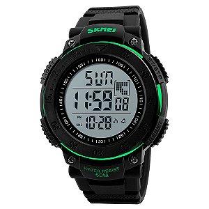 Relógio Masculino Skmei Digital 1237 - Preto e Verde