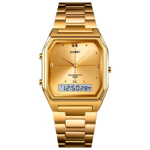 Relógio Feminino Skmei AnaDigi 1612 - Dourado