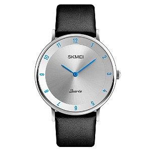 Relógio Unissex Skmei Analógico 1263 - Prata e Azul