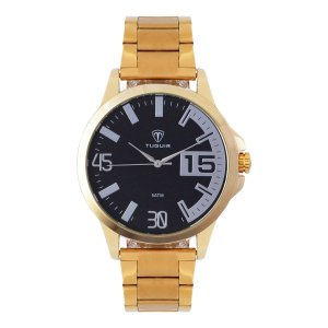 Relógio Masculino Tuguir Analógico TG100 - Dourado e Prata