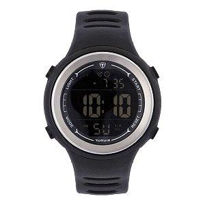 Relógio Masculino Tuguir Digital TG123 - Preto e Prata