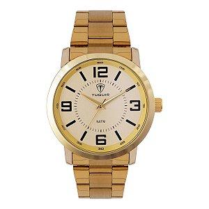 Relógio Masculino Tuguir Analógico TG121 - Dourado