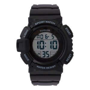 Relógio Masculino Tuguir Digital TG131 - Preto