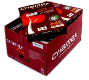 Papel Sulfite A4 Chamex Office - CX. C/ 10 Resmas - Internacional Paper