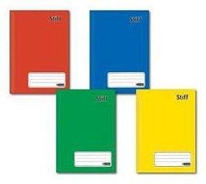 Caderno brochura 1/4 (capa dura) Stiff 96 Folhas - Jandaia