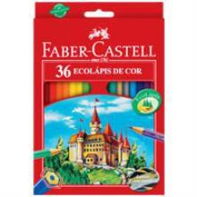 Lápis de cor (sextavado) Ecolapis 36 Cores - Faber-Castell