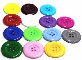 Botão para artesanato cores sortidas
