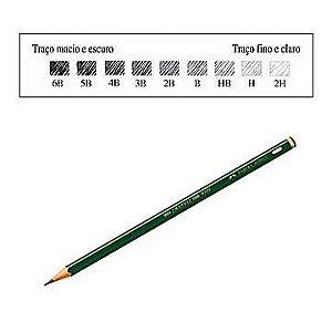 Lápis preto (técnico) 9000 - Faber-Castell