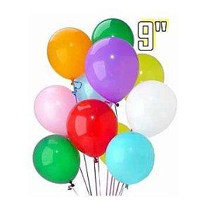 Balão (Bexiga) N.9 C/50unid. - Riberball