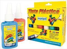 Tinta plástica  Estojo C/6 Cores 30ml - Maripel